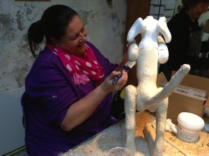 Sculptuur maken in 1 dag